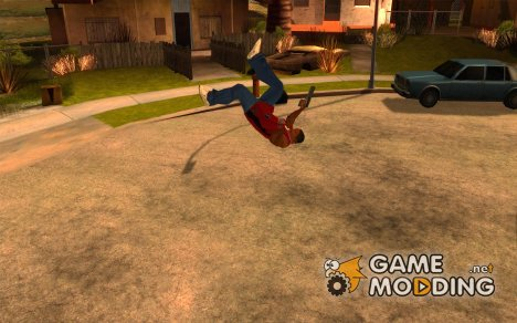 39 анимаций из игры Assassin's Creed для GTA San Andreas