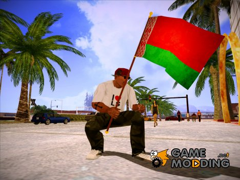 Флаг Беларусь for GTA San Andreas