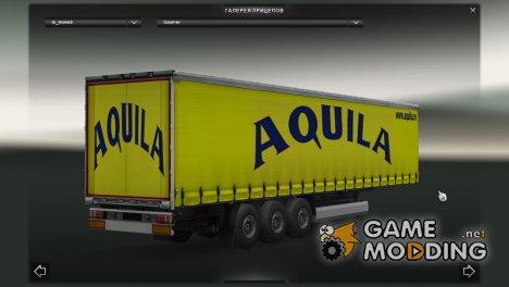 Aquila Trailer для Euro Truck Simulator 2