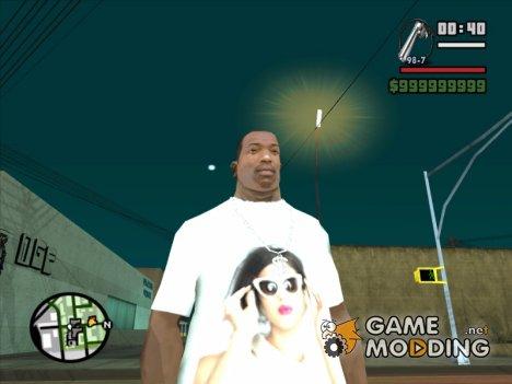 Selena gomez для GTA San Andreas
