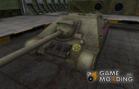 Качественные зоны пробития для СУ-122-44 for World of Tanks