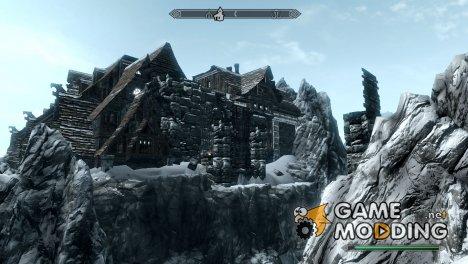 Замок Сутвака для TES V Skyrim