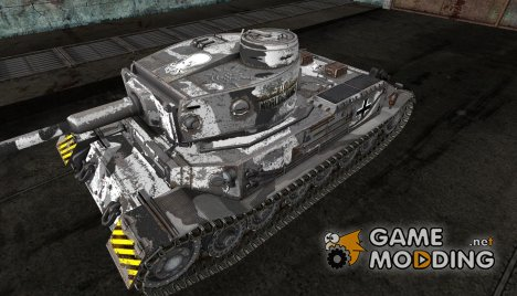 Шкурка для PzKpfw VI Tiger (P) for World of Tanks