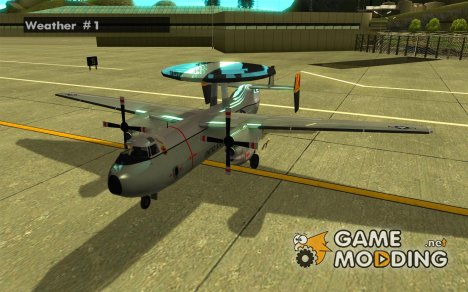 E-C2 Hawkeye for GTA San Andreas