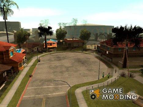 Изменённый Грув Стрит for GTA San Andreas