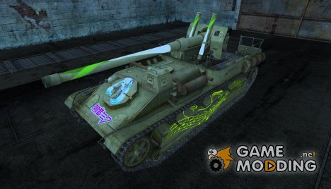 Шкурка для СУ-8 for World of Tanks