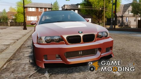 BMW M3 E46 for GTA 4