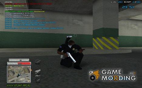New C-HUD v.2. для GTA San Andreas