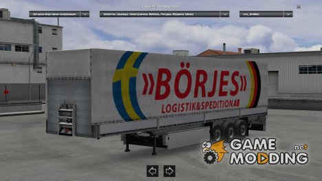 Trailers Pack Universal (Replaces or Standalone) для Euro Truck Simulator 2
