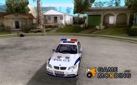 BMW 3 Series China Police для GTA San Andreas