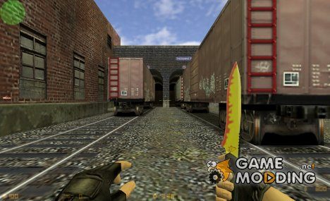 Spray's Flamey KniFe for Counter-Strike 1.6