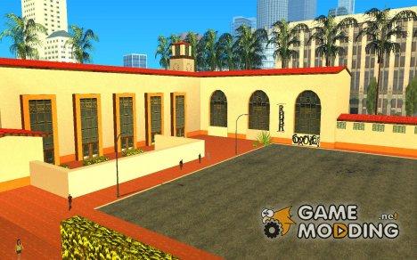 Новые текстуры для станции Юнити for GTA San Andreas