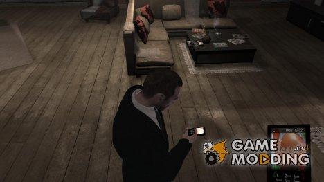 SeXxX Cellphone Theme для GTA 4