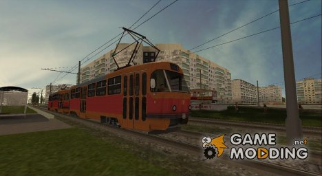 Tatra T3SU Воронеж for GTA San Andreas