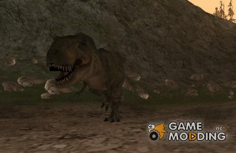 Dinosaurs Attack mod for GTA San Andreas
