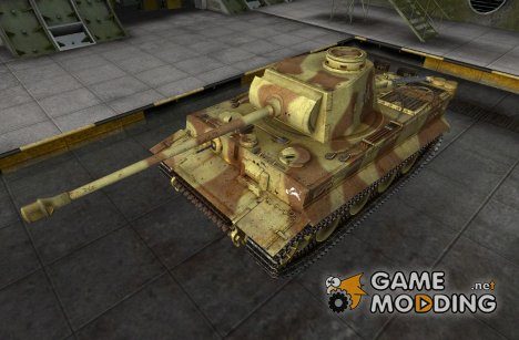 Ремоделинг для танка Pz Vi Tiger для World of Tanks