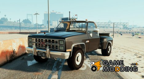 GMC Sierra 454 for GTA 5