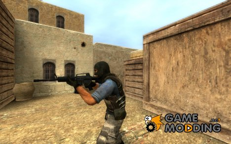 MuffinS M4 with Phong for Counter-Strike Source