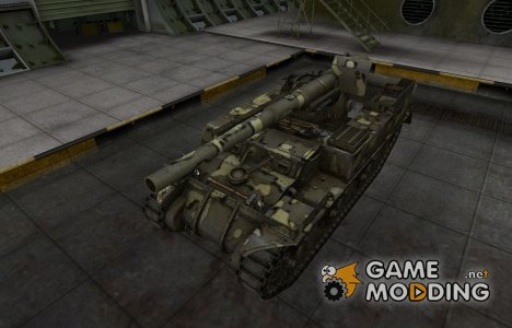 Простой скин M12 for World of Tanks