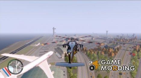 Новый путь самолета for GTA 4