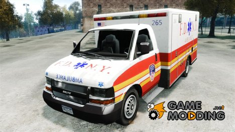 F.D.N.Y. Ambulance for GTA 4