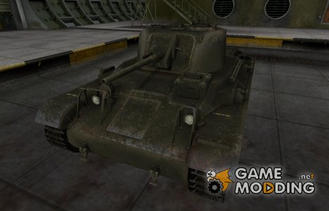 Шкурка для американского танка M22 Locust for World of Tanks