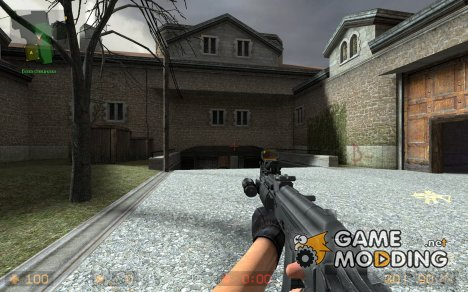 Tactical assault rifle для Counter-Strike Source