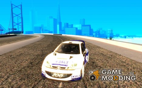 Peugeot 206 WRC из Richard Burns Rally для GTA San Andreas