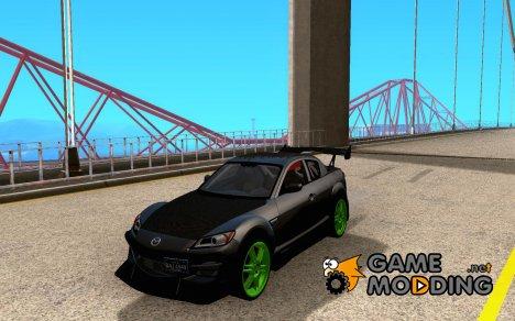 Mazda RX-8 R3 Tuned 2011 for GTA San Andreas