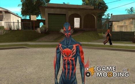 Человек-паук 2099 for GTA San Andreas