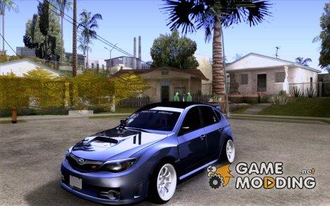 Subaru Impreza STI hellaflush для GTA San Andreas