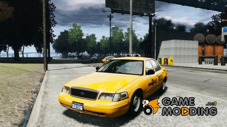 Ford Crown Victoria 2003 NYC Taxi for GTA 4
