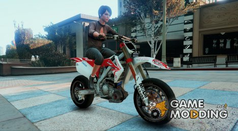 Honda CRF 450 Turbo Motard для GTA 5