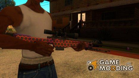 """AWP """"Электрический Улей"""" из CS:GO for GTA San Andreas"""