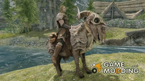 Franka The Battle Goat for TES V Skyrim