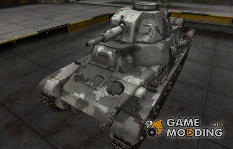 Камуфлированный скин для PzKpfw 38H 735 (f) for World of Tanks