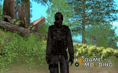 Cop 2 из Counter Strike for GTA San Andreas