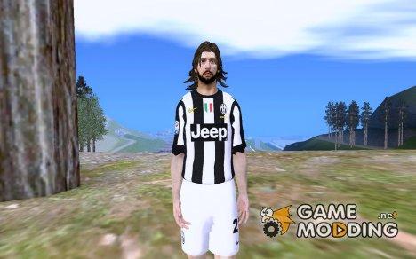 Andrea Pirlo [Juventus] for GTA San Andreas