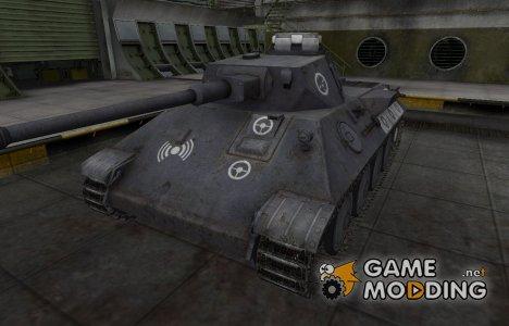 Зоны пробития контурные для VK 30.01 (D) для World of Tanks