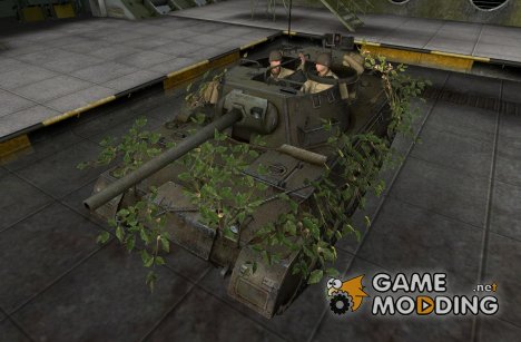 Remodel M18 Hellcat для World of Tanks
