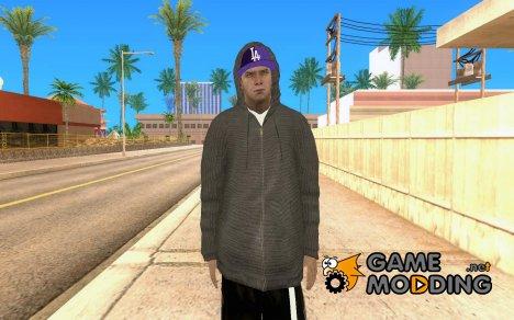 Зимний пед в капюшоне для GTA San Andreas