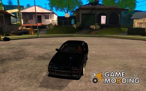 Ae86 tuned by Xavier для GTA San Andreas