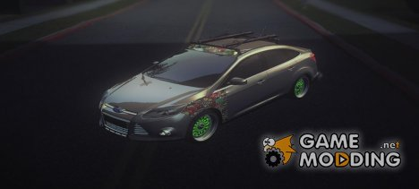 2013 Ford Focus Sedan Hellaflush для GTA San Andreas