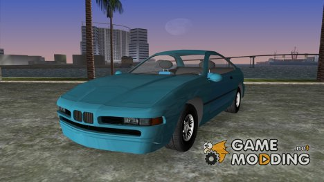 BMW 850 Ci для GTA Vice City