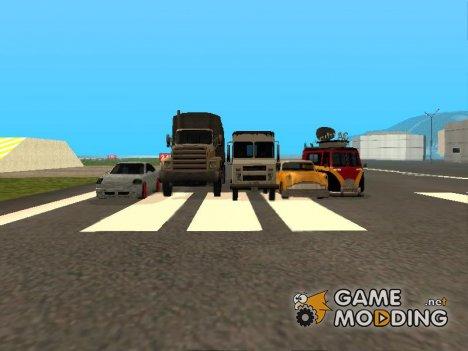 Пак машин в стиле SA для GTA San Andreas