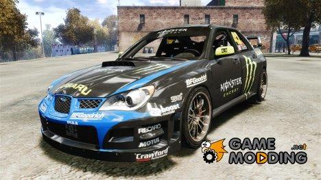 Subaru Impreza WRX STI GD Gymkhana Кen Block (DiRT3) для GTA 4
