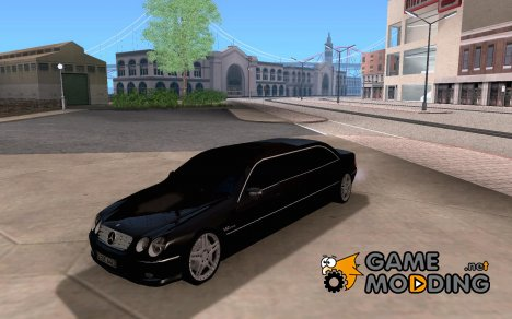 Mercedes-Benz CL65 limosine для GTA San Andreas