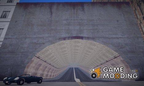 Тоннель В Город Призрак v2 for GTA 3