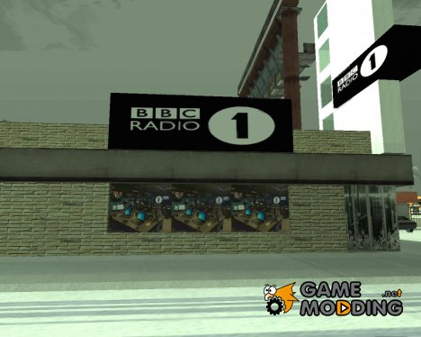Студия радио BBC 1 for GTA San Andreas