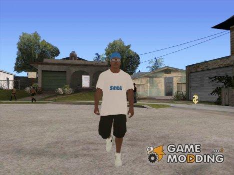 Franklin Sega Shirt для GTA San Andreas